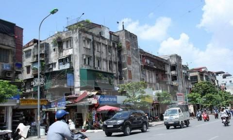 Mới chỉ 1% chung cư cũ ở Hà Nội được cải tạo, xây dựng lại