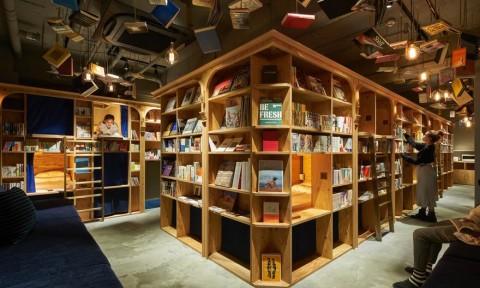 Chiêm ngưỡng khách sạn sách độc đáo ở Nhật Bản