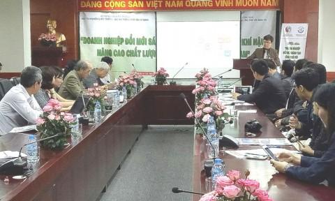 Đổi mới sáng tạo ứng phó với biến đổi khí hậu, nâng cao chất lượng tăng trưởng xanh Việt Nam