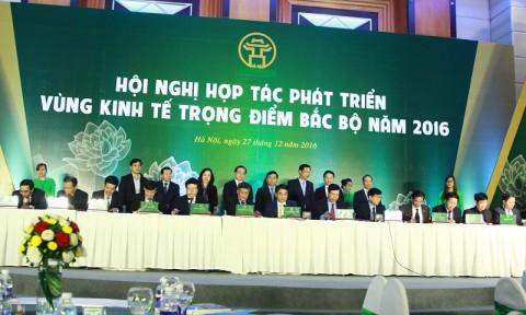 Hội nghị Hợp tác phát triển Vùng kinh tế trọng điểm Bắc bộ 2016