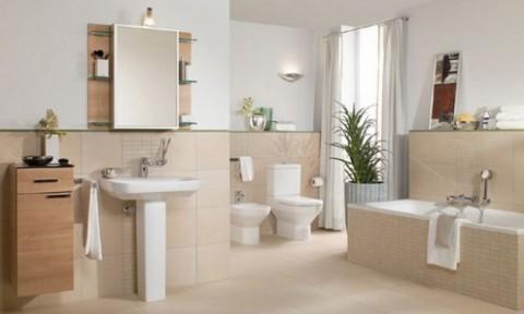 5 gợi ý làm mới phòng tắm
