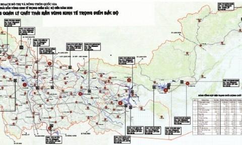 Quy hoạch quản lý chất thải rắn Vùng kinh tế trọng điểm Bắc bộ đến năm 2030