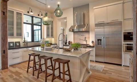 Đèn treo thả làm đẹp phòng bếp nhà bạn