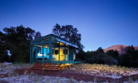 Không gian nghỉ dưỡng độc đáo tại vùng đồng quê New Zealand