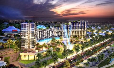 Cất nóc khách sạn FLC Grand Hotel Sầm Sơn