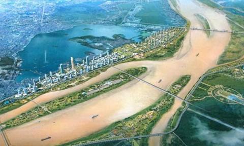 Quy hoạch hai bên sông Hồng: Hà Nội sẽ có tuyến đê mới?