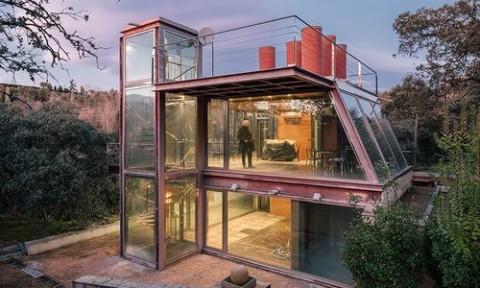 Ngôi nhà nghỉ dưỡng bằng kính độc đáo tại Tây Ban Nha