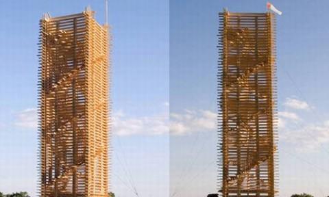 Xây dựng cấu trúc năng lượng tái tạo bằng gỗ bền vững