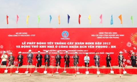 Viglacera xây nhà ở cho 4.000 công nhân khu công nghiệp Yên Phong