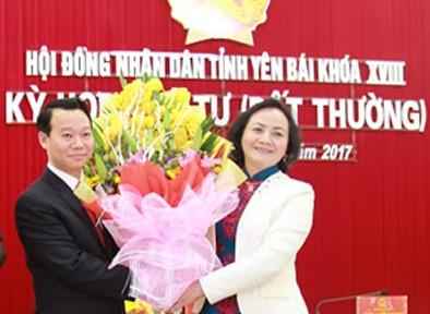 Thứ trưởng Đỗ Đức Duy được bầu làm Chủ tịch UBND tỉnh Yên Bái
