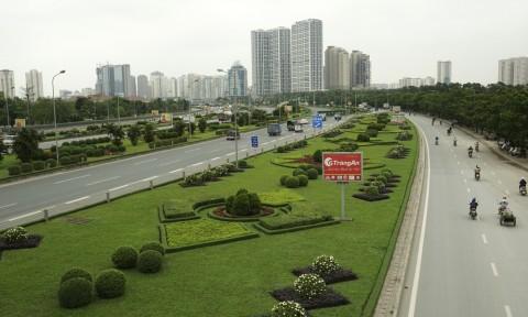Xây 'thành phố vườn' kiểu mẫu bên Đại lộ Thăng Long