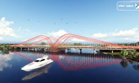 Bà Rịa – Vũng Tàu chọn thiết kế Cánh chim Hải Âu cho cầu Cỏ May