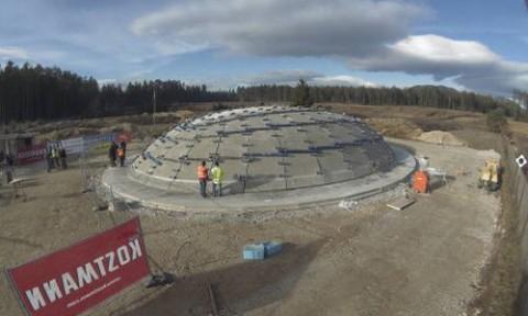 Làm thế nào để xây dựng một mái vòm bằng bê tông cứng?