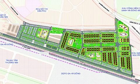 Khớp nối đồng bộ không gian kiến trúc KĐTM Phú Lương
