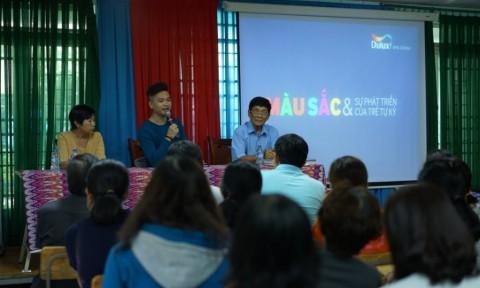 AkzoNobel Việt Nam đồng hành và truyền cảm hứng đến trẻ tự kỷ thông qua sức mạnh về màu sắc thiết yếu