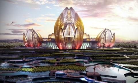 DeciBel lần đầu tiết lộ về hình tượng Quốc hoa Việt Nam qua công trình Hanoi Lotus Centre