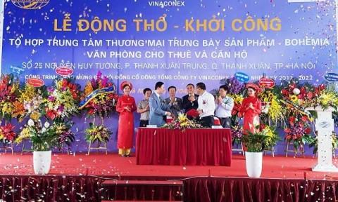 Vinaconex khởi công tòa tháp 33 tầng tại quận Thanh Xuân