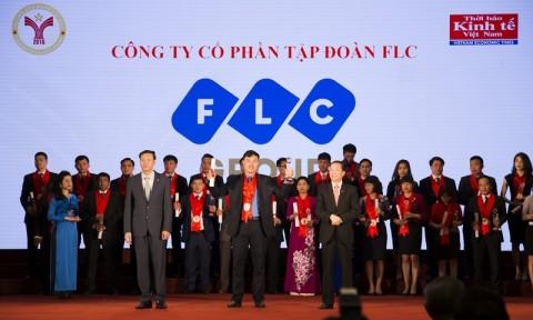 Tập đoàn FLC đạt danh hiệu thương hiệu mạnh năm 2016