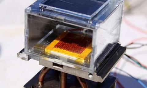 Thiết bị sản xuất gần 3 lít nước uống từ không khí mỗi ngày