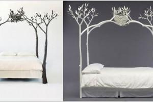 Thiết kế giường ngủ đẹp như trong chuyện cổ tích