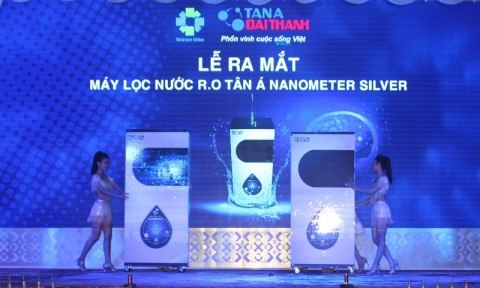 Tập đoàn Tân Á Đại Thành ra mắt máy lọc nước R.O Tân Á mới