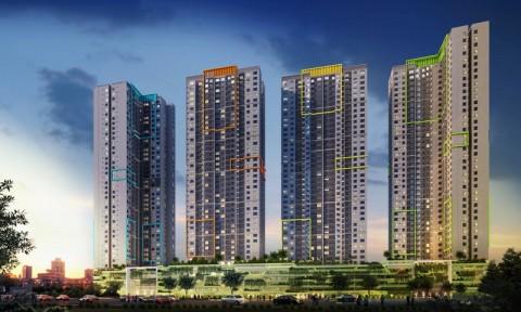 Cất nóc dự án Seasons Avenue tại Hà Nội