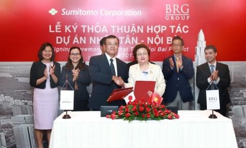 Chính phủ Nhật Bản hỗ trợ vốn lập quy hoạch và đầu tư hạ tầng dự án đô thị Nhật Tân – Nội Bài