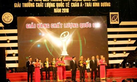 Gốm Đất Việt nhận giải Vàng Giải thưởng Chất lượng Quốc gia