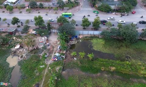 Toàn cảnh 'công viên treo' và 'đường trên giấy' cạnh dự án Home City