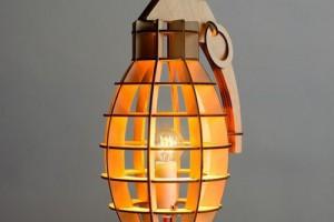 Những chiếc đèn gỗ giản dị vẫn thu hút chú ý
