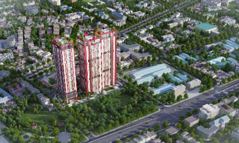Dự án Hanoi Paragon có mật độ căn hộ thấp