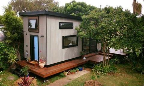 """Ngôi nhà """"ki ốt"""" thiết kế siêu thông minh"""