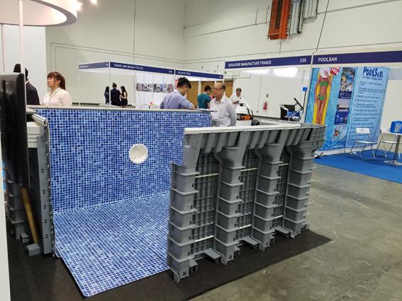 Công nghệ Modulopool thi công bể bơi sử dụng vật liệu Composite của hãng Astrapool