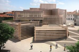 """Độc đáo với kiến trúc """"bắt chước quy hoạch"""" của viện bảo tàng Odunpazari ở Thổ Nhĩ Kỳ"""