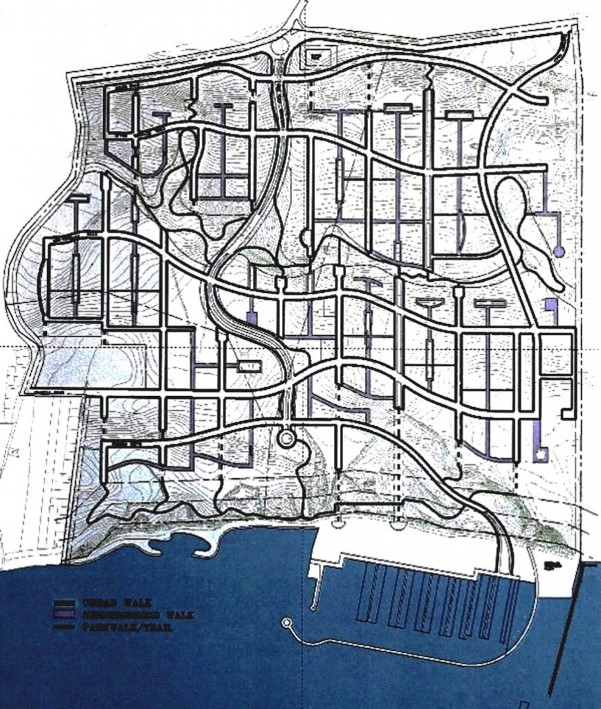 Quy hoạch Khu Đô thị biển Resit Pasa tại Istanbul, Turkey không có nhà cao tầng, chỉ có các nhà thấp tầng phối hợp với mạng đường giao thông Đông Tây theo sườn đồi và các tuyến đường Bắc Nam có tầm nhìn thoáng ra biển.