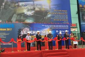 Contech Vietnam 2017 giới thiệu nhiều sản phẩm ưu việt ngành Xây dựng