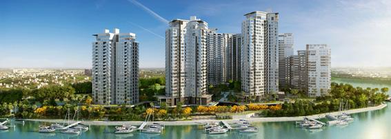 Thiết kế kiến trúc khu nhà ở cao tầng ven biển tại Phú Quốc (Kiên Giang)