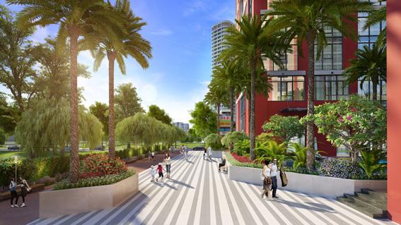 Dự án thiết kế  trồng nhiều cây xanh