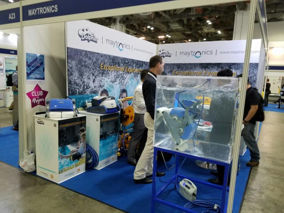 Hãng công nghệ Astra Pool giới thiệu dòng sản phẩm rô-bốt tự hành
