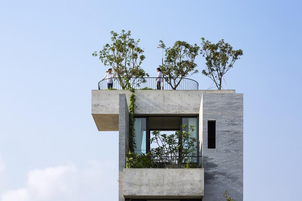 Công trình Bình House (KTS Võ Trọng Nghĩa), giải nhất hạng mục KTS trẻ, giải thưởng Spec Go Green 2016
