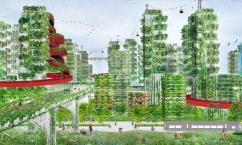 """Kế hoạch xây dựng """"thành phố rừng"""" chống ô nhiễm môi trường ở Trung Quốc"""