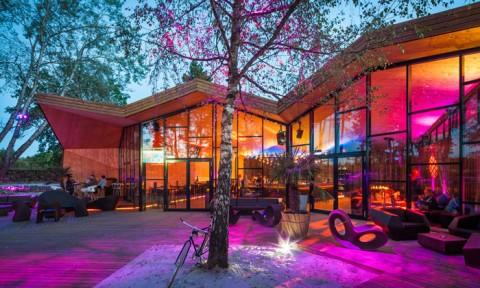 Nhà hàng gây sốt vì kiến trúc góc cạnh độc đáo