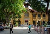 Trường đại học có kiến trúc Á- Âu giữa Sài Gòn