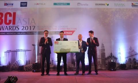 BCI trao giải thiết kế công trình xanh châu Á