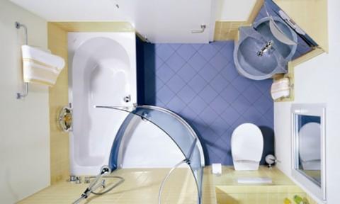 Ý tưởng tuyệt vời cho phòng tắm nhỏ