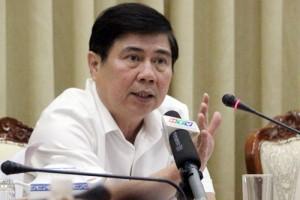 Chủ tịch TP HCM sốt ruột vì tình trạng vỉa hè bị tái chiếm