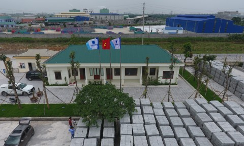 Khang Minh khởi công xây dựng nhà máy gạch thứ hai