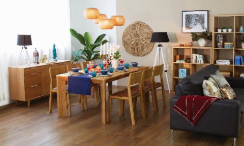 Bộ sưu tập nội thất gỗ sồi của UMA