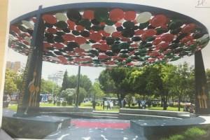 Thi tuyển kiến trúc: Tượng đài hữu nghị Bệnh viện Đa khoa tỉnh, thành phố Châu Đốc, tỉnh An Giang