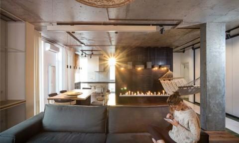 Thiết kế phá cách trong căn hộ chung cư cao cấp